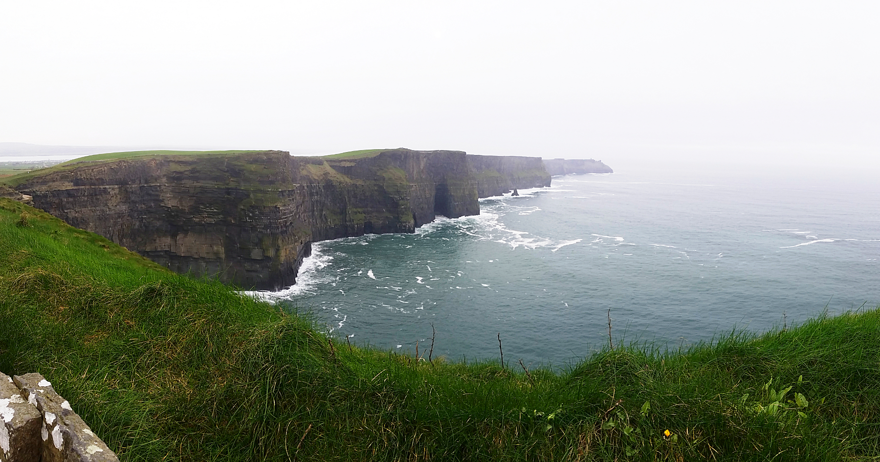 Panorama paysage Cliffs of Moher, Falaises de Moher, Irlande