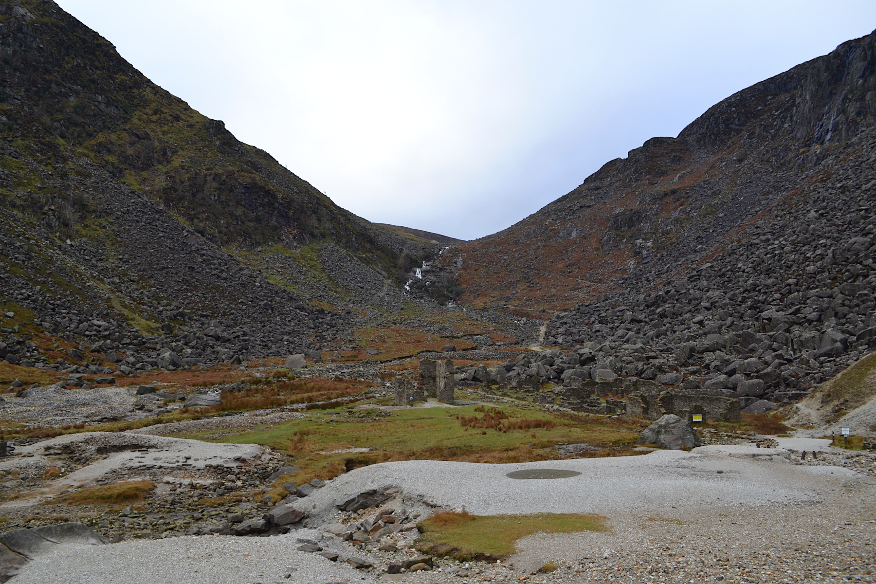 mine de Glendalough, randonnée au parc national de Wicklow, trail, panorama et paysage